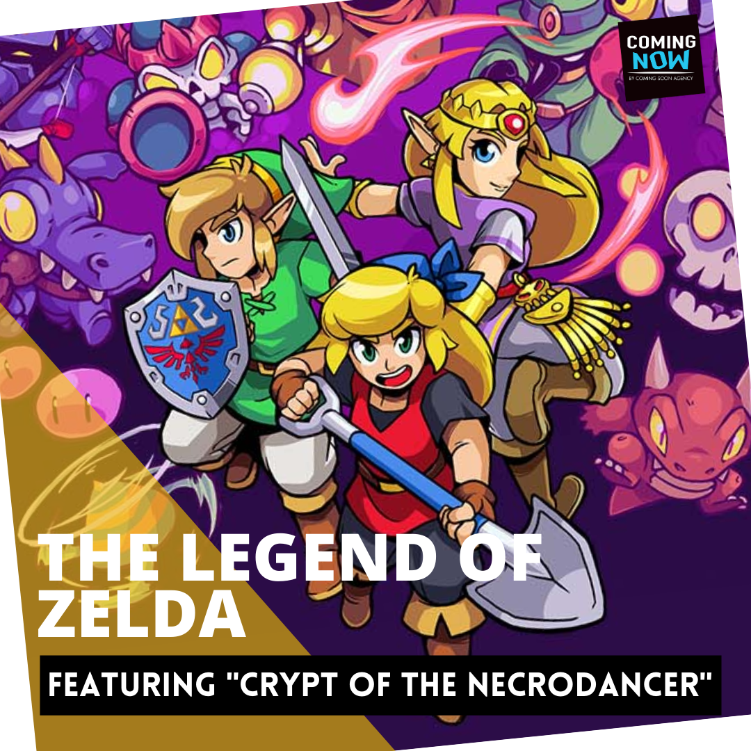 """THE LEGEND OF ZELDA FEATURING """"CRYPT OF THE NECRODANCER"""""""