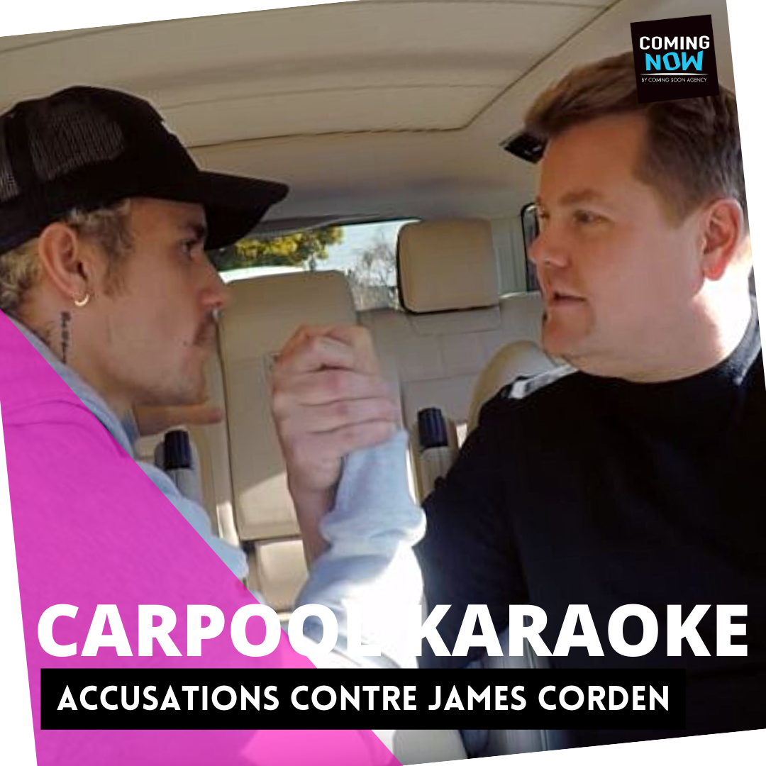 CARPOOL KARAOKE : ACCUSATIONS CONTRE JAMES CORDEN